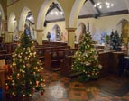 Tree festival at St Matthew's Church December 2019